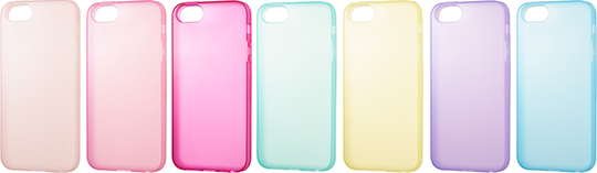 SoftBank SELECTION パステルケース for iPhone 5