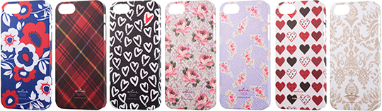 SoftBank SELECTION Hallmarkデザインケース for iPhone 5