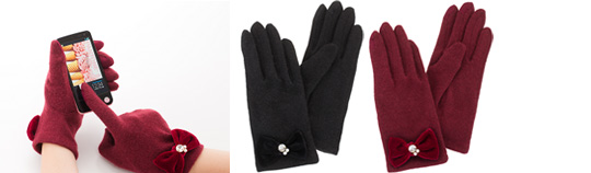 SoftBank SELECTION Smartphone Gloves <Lady's>