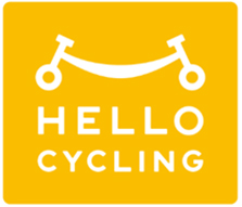 「HELLO CYCLING」ロゴ