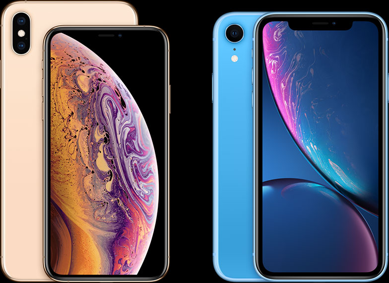 iPhone XS iPhone XR