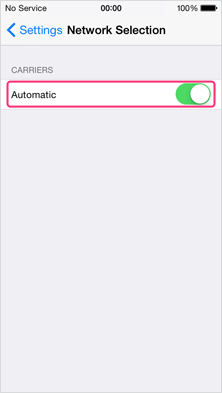 "3. Turn ""Automatic"" off"