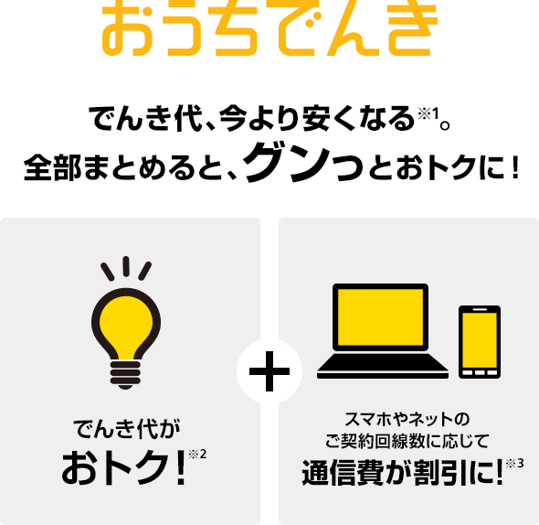 でんき ソフトバンク